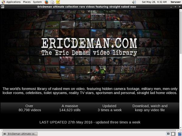 Eric Deman Free Passwords