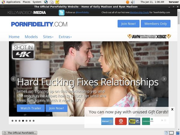 Porn Fidelity Sale Price