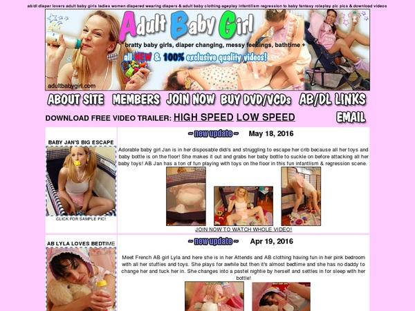 Www Adultbabygirl.com