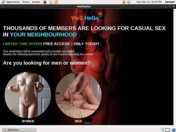 Wellhello.com Order Page