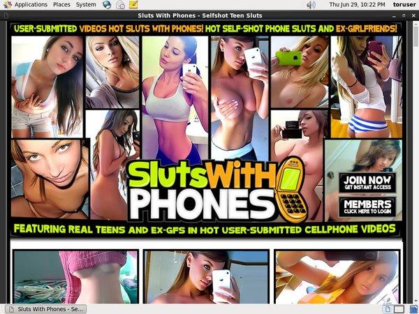 Sluts With Phones Special Deal