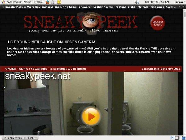 Sneaky Peek Full Videos