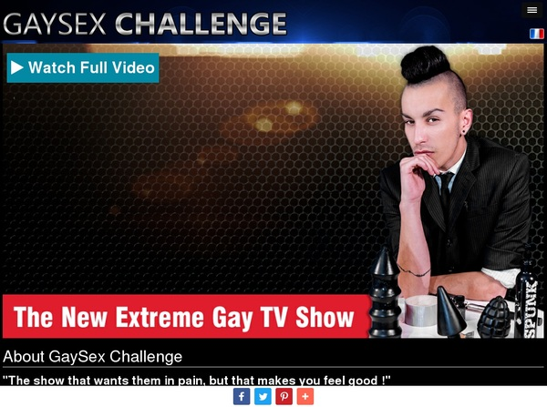 Gay Sex Challenge Accs