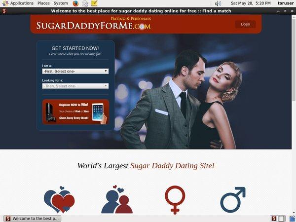 Sugardaddyforme With AOL Account