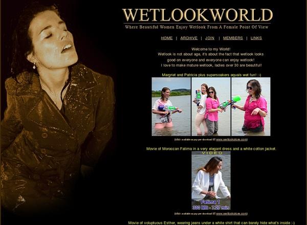 Wetlookworld.com Join Again