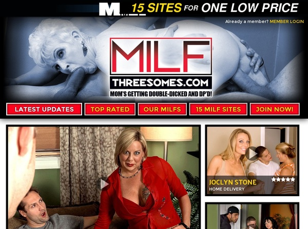 MILF Threesomes With AOL Account